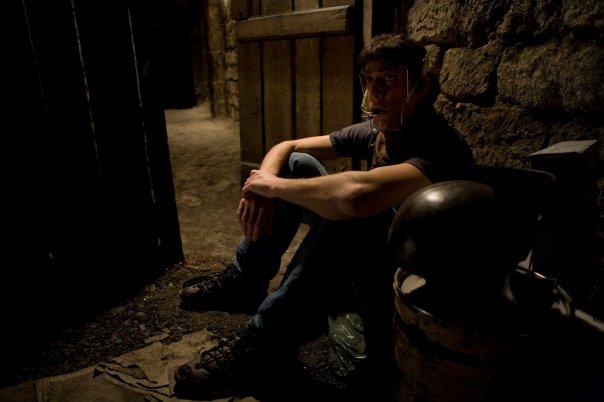 Émile dans la cave